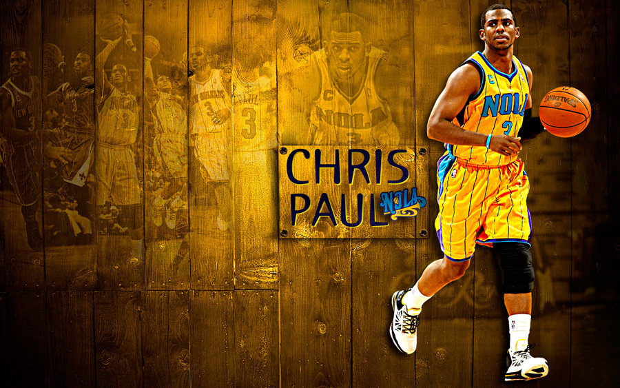 Chris Paul 1680x1050 Hornets Wallpaper