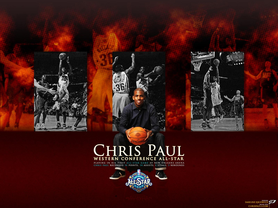 Chris Paul All Star 2008 Wallpaper