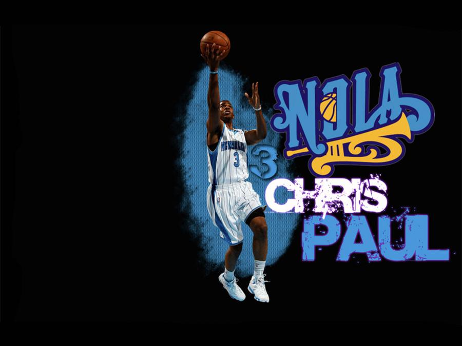 Chris Paul Layup Wallpaper