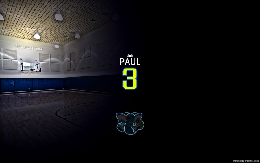 Chris Paul Number 3 Widescreen Wallpaper