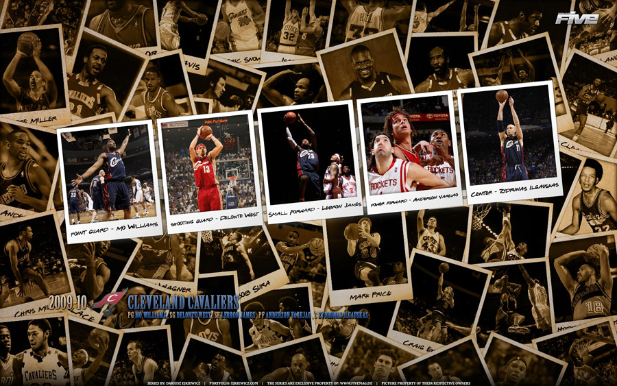Cleveland Cavaliers 2010 Widescreen Wallpaper