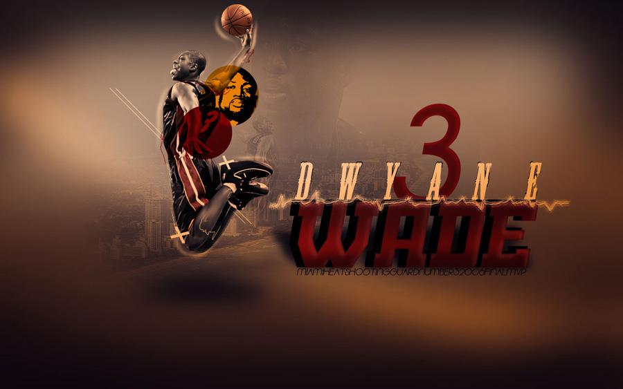 D-Wade #3 Dunk Widescreen Wallpaper