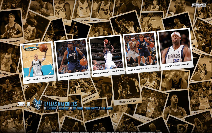 Dallas Mavericks 2010 Widescreen Wallpaper