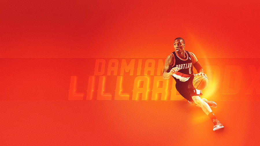 Damian Lillard 1600x900 Wallpaper
