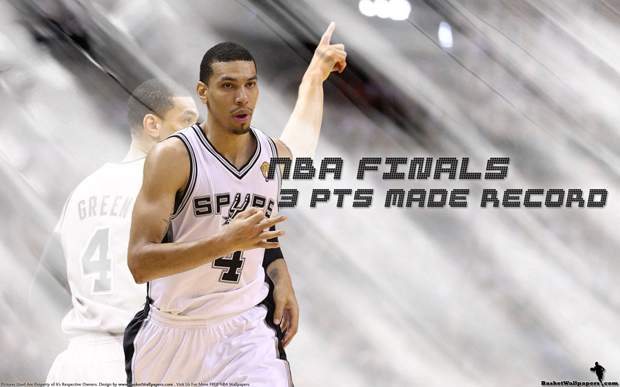 Danny Green 2013 NBA Finals 3-Pts Record 1920x1200 Wallpaper