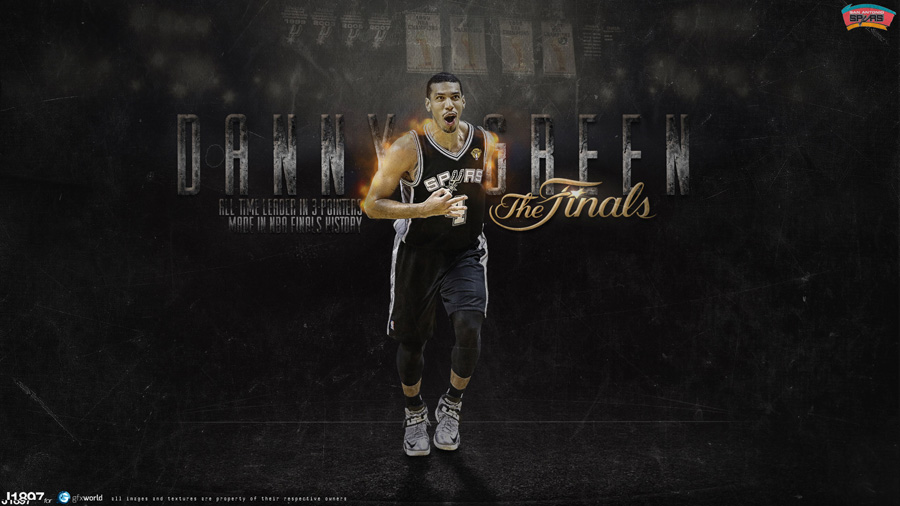 Danny Green Spurs 2013 1920x1080 Wallpaper