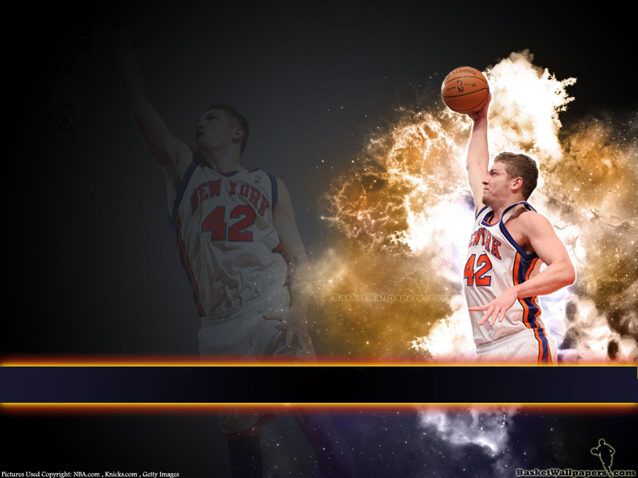 David Lee Knicks Dunk Wallpaper