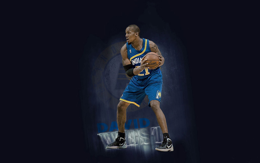 David West Pacers 1280x800 Wallpaper