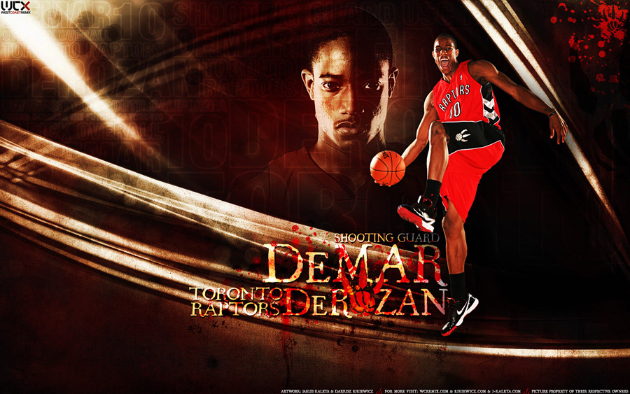 DeMar DeRozan 1920x1200 Widescreen Wallpaper