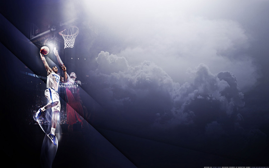 DeMar DeRozan Huskies Widescreen Wallpaper
