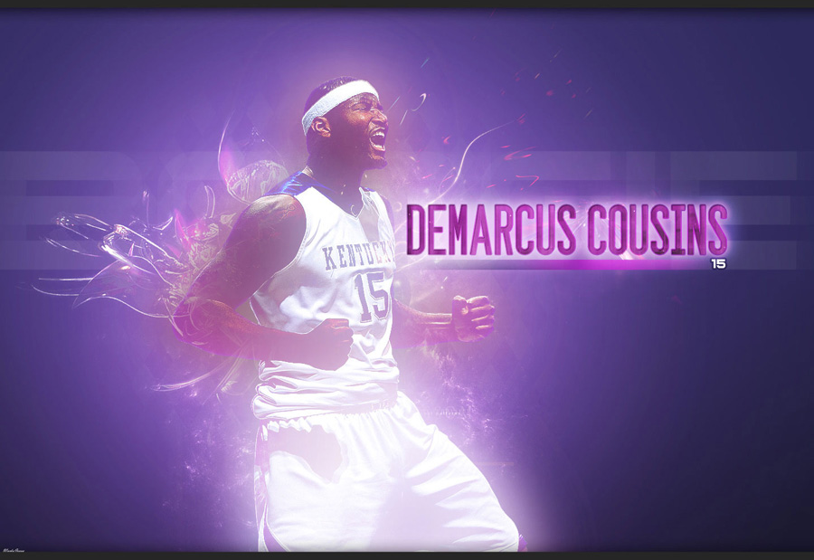 DeMarcus Cousins Kentucky Wildcats Wallpaper