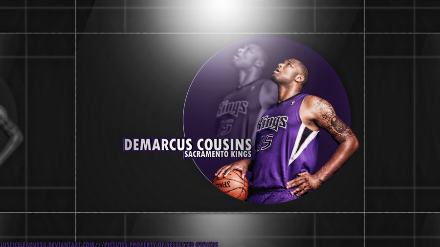 DeMarcus Cousins Kings Widescreen Wallpaper