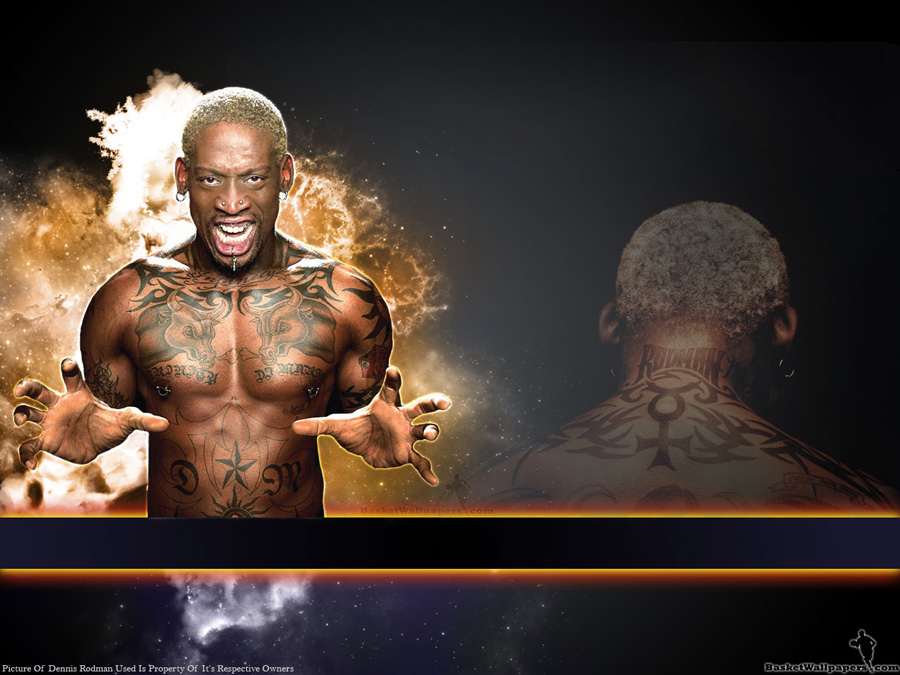 Dennis Rodman 1280x960 Wallpaper
