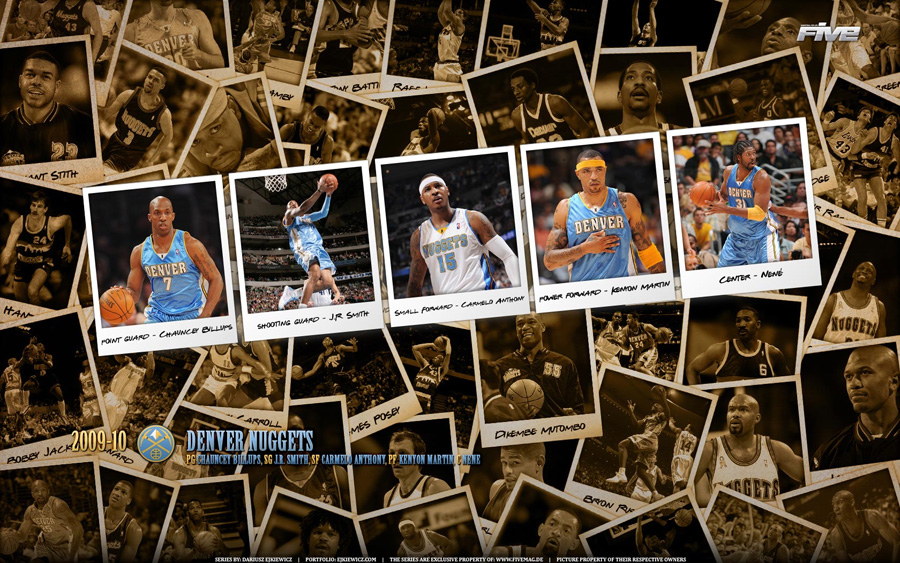 Denver Nuggets 2010 Widescreen Wallpaper