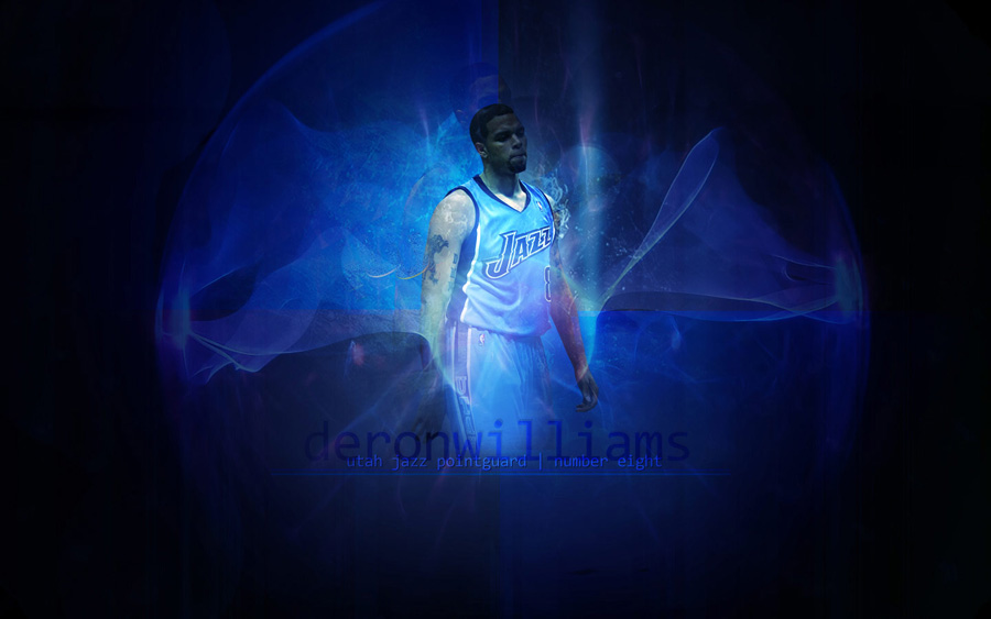 Deron Williams 8 Widescreen Wallpaper