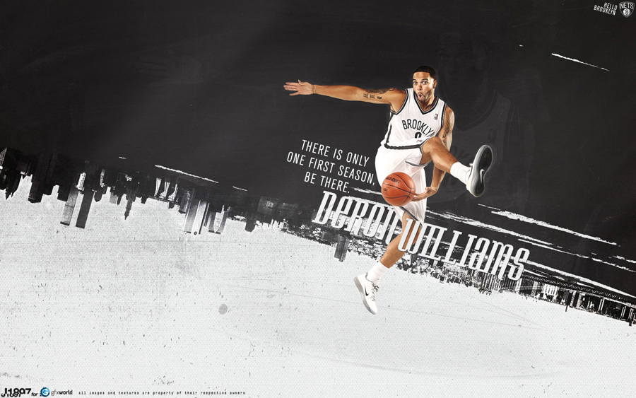 Deron Williams Nets 1920x1200 Wallpaper