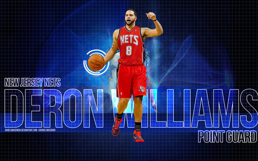 Deron Williams Nets 1920x1200 Widescreen Wallpaper