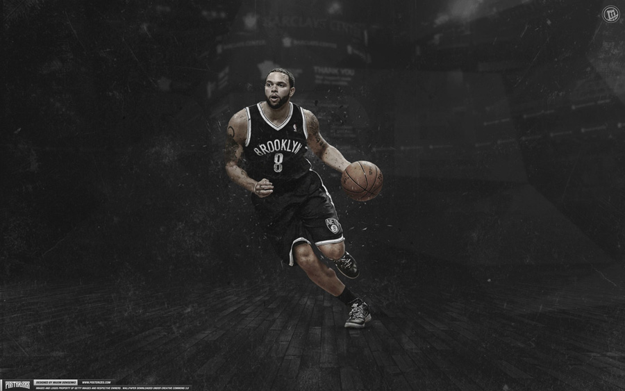 Deron Williams Nets 2013 2880x1800 Wallpaper