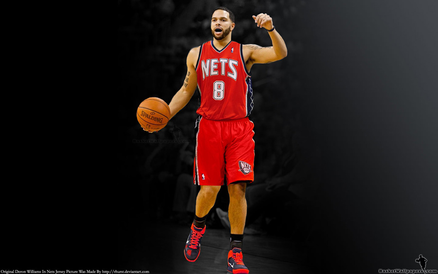 Deron Williams New Jersey Nets Widescreen Wallpaper