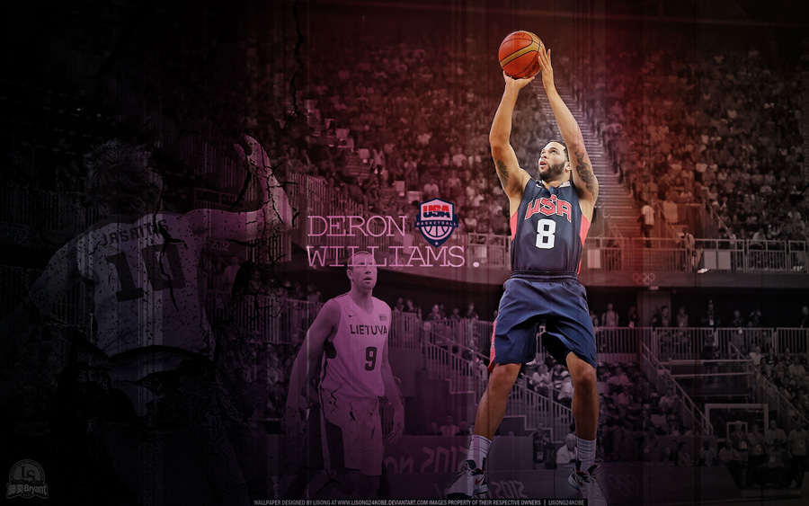 Deron Williams Olympics 2012 vs Lithuania 2560x1600 Wallpaper
