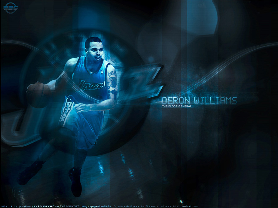 Deron Williams Utah Wallpaper