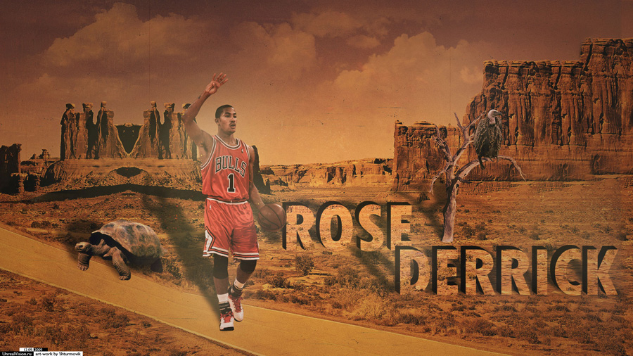Derrick Rose 1920x1080 Wallpaper