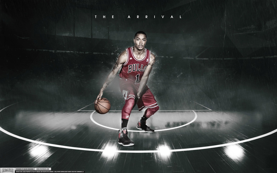 Derrick Rose 2013-2014 2560x1600 Wallpaper