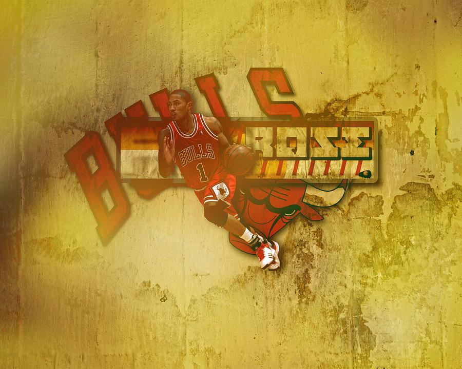 Derrick Rose Bulls Wallpaper