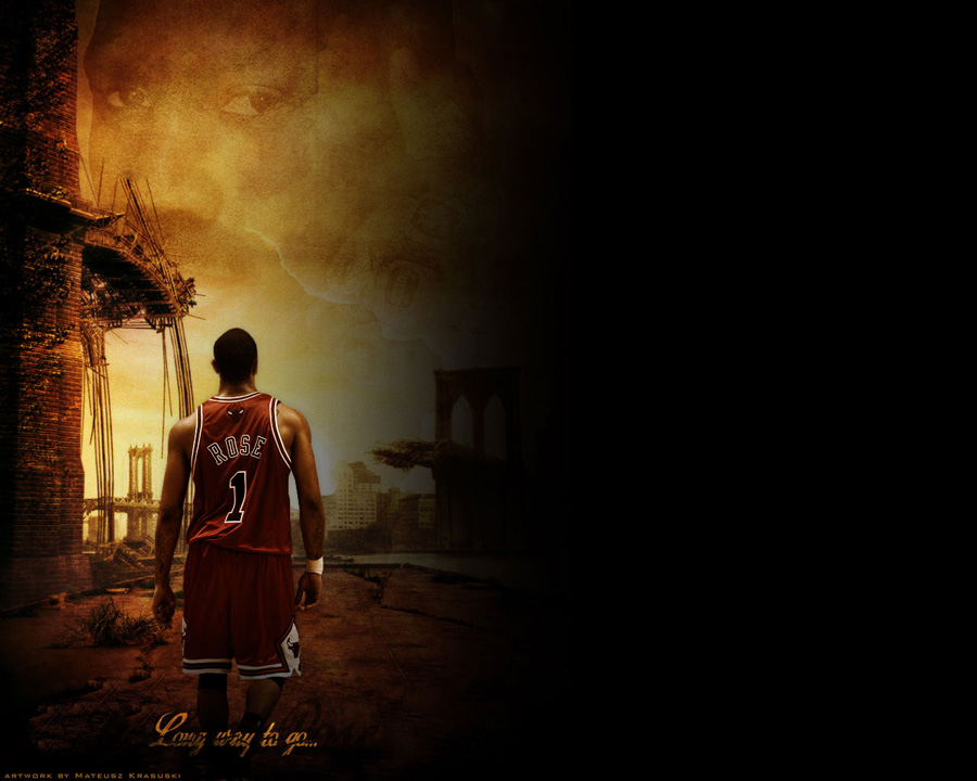 Derrick Rose Long Way To Go Wallpaper