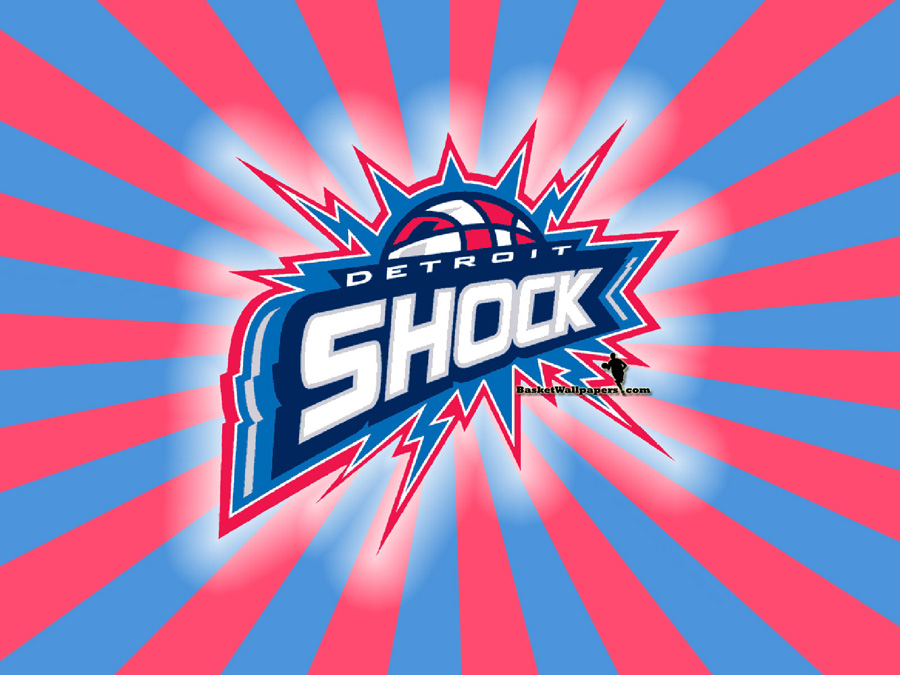 Detroit Shock Logo Wallpaper