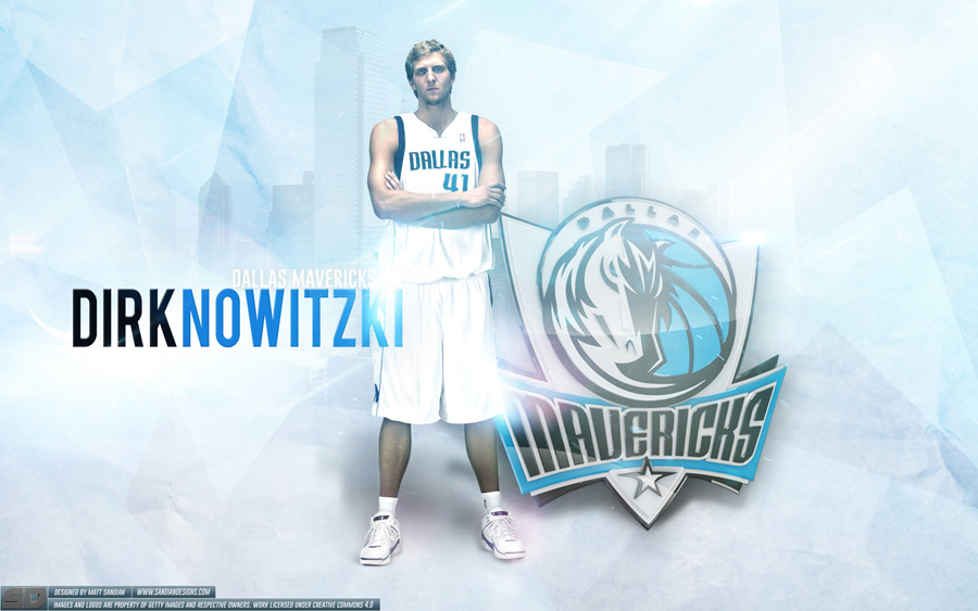 Dirk Nowitzki Mavericks 2014 Wallpaper