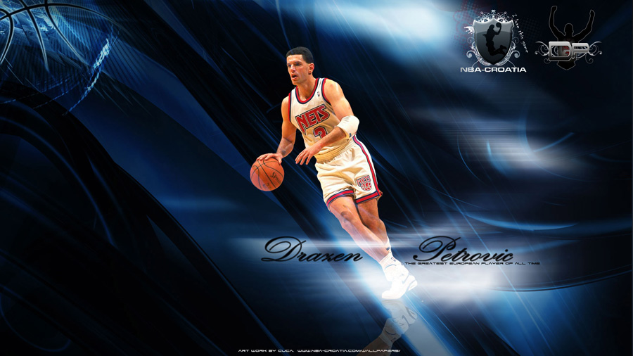 Drazen Petrovic Widescreen Wallpaper