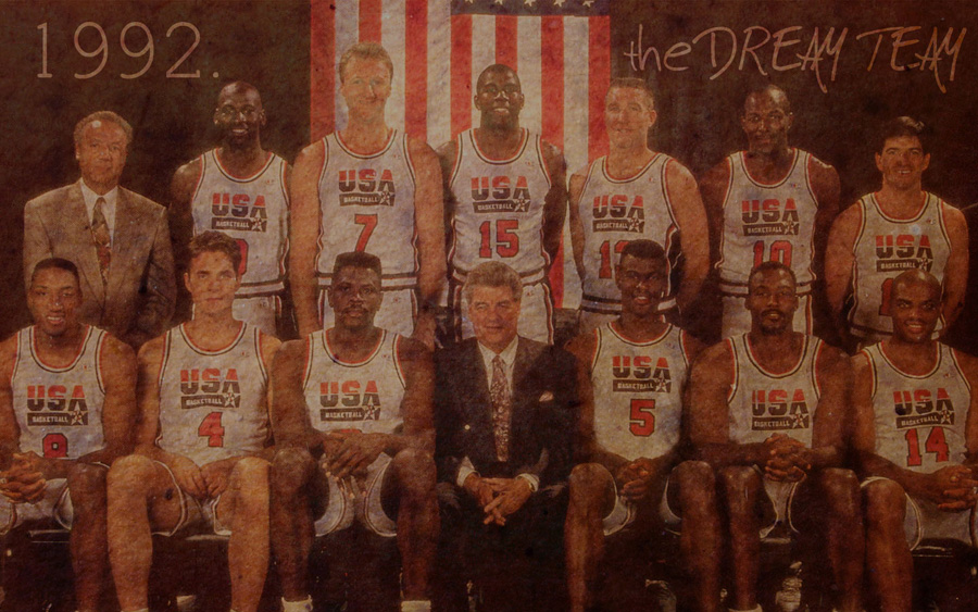 Dream Team 1992 Widescreen Wallpaper