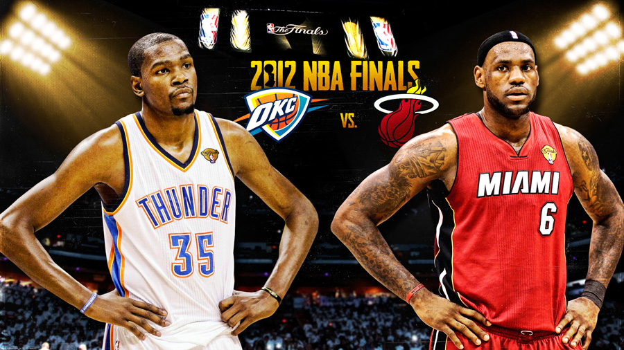 Durant James 2012 NBA Finals 2560x1440 Wallpaper