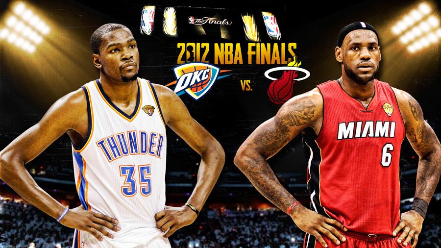 Durant James 2012 NBA Finals 2560x1440 Wallpaper
