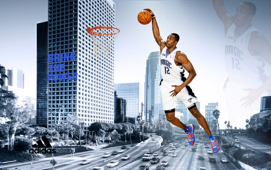 Dwight Howard Bring The Power 1920x1200 Wallpaper