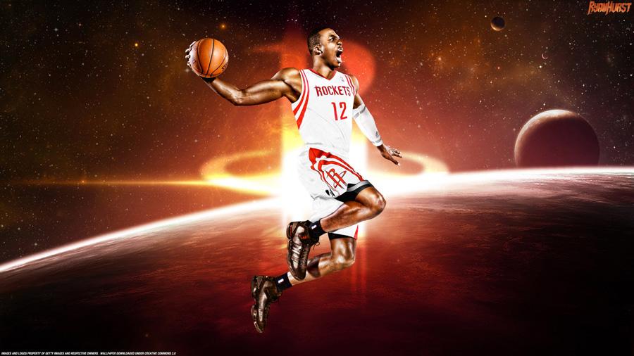 Dwight Howard Houston Rockets 2560x1440 Wallpaper