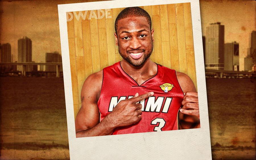 Dwyane Wade 2012 NBA Finals 1920x1200 Wallpaper