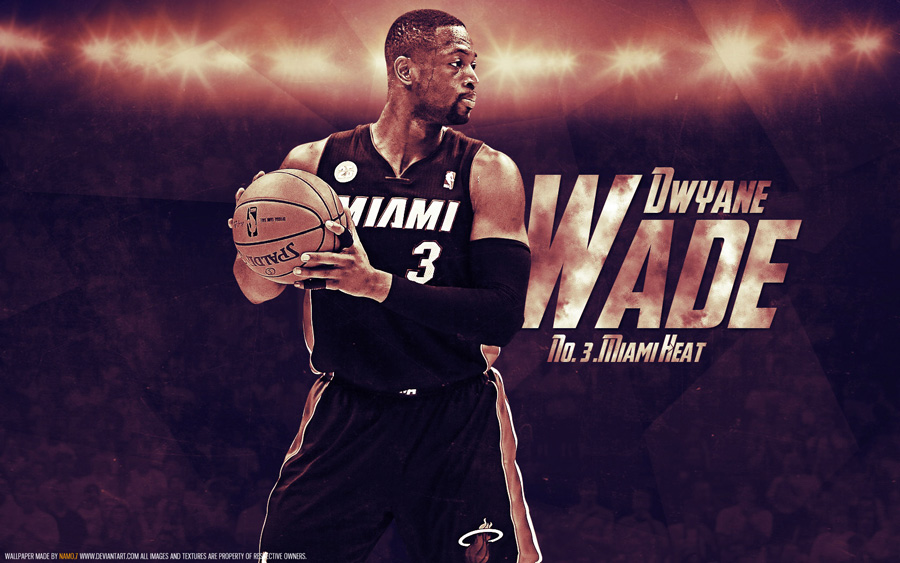 Dwyane Wade 2013 NBA Playoffs 1680x1050 Wallpaper