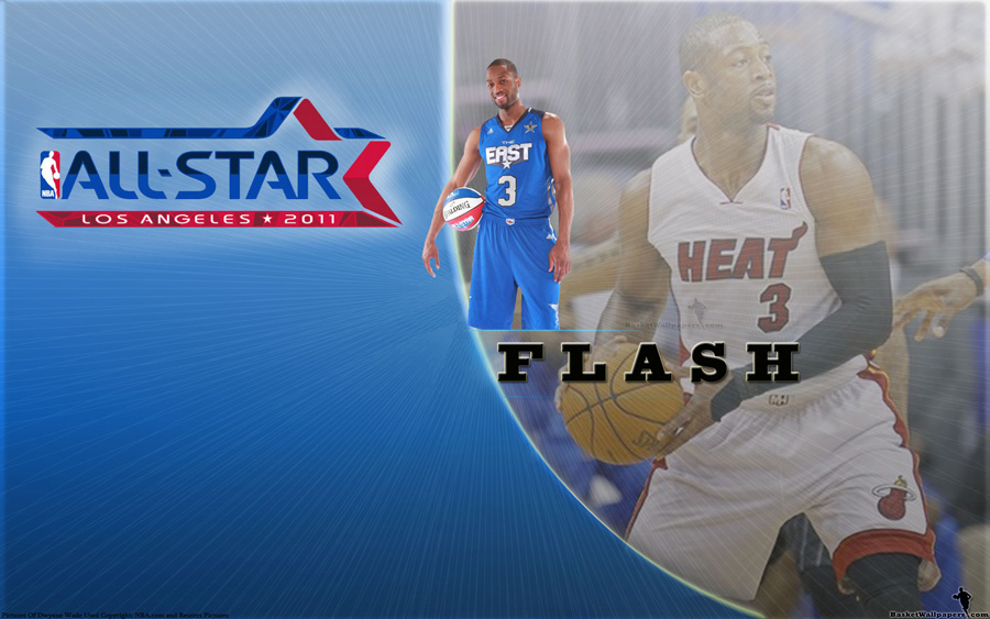 Dwyane Wade All-Star 2011 Widescreen Wallpaper