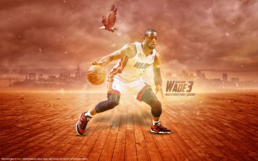 Dwyane Wade Heat 2013 1680x1050 Wallpaper