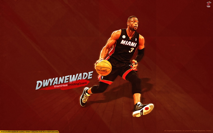 Dwyane Wade Heat SG 1920x1200 Wallpaper