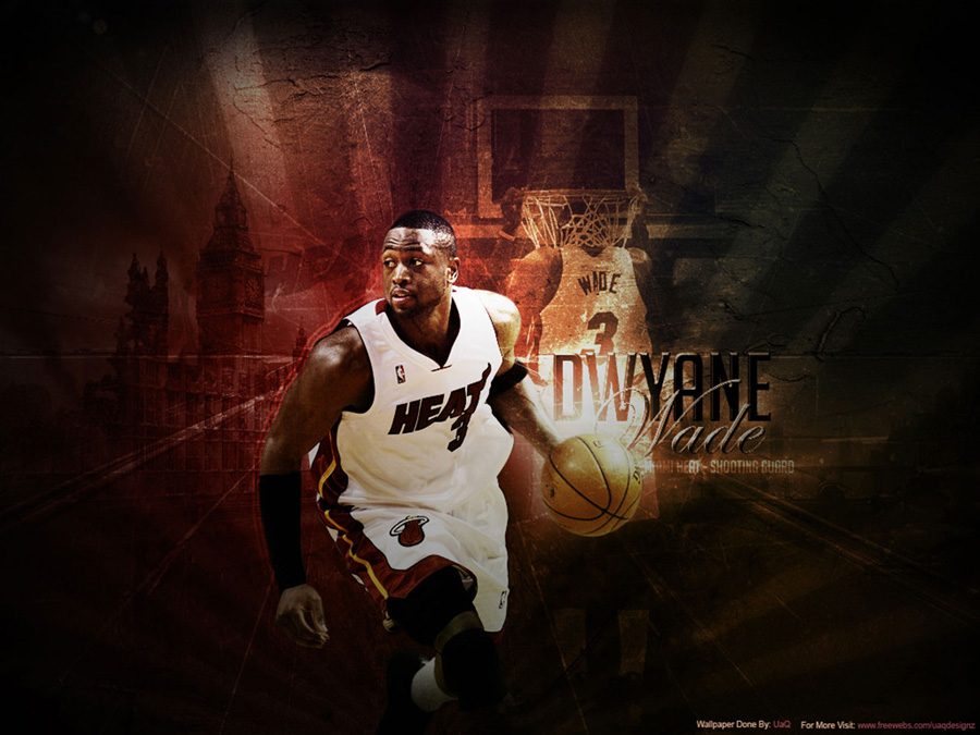 Dwyane Wade Heat Wallpaper
