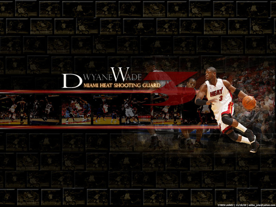 Dwyane Wade Miami Heat SG Wallpaper