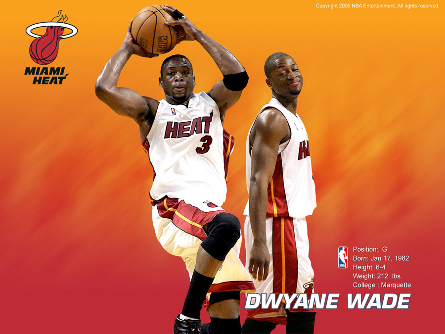 Dwyane Wade Miami Heat Wallpaper