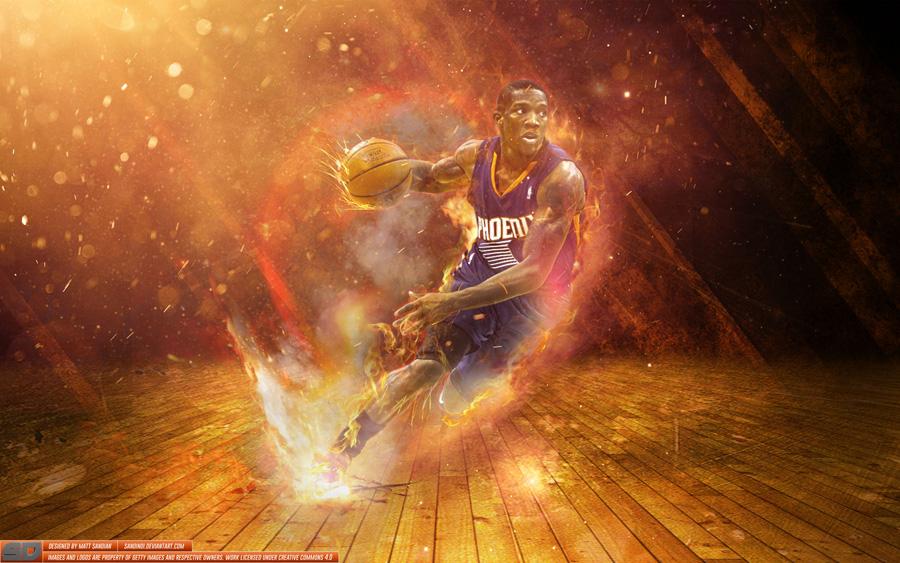 Eric Bledsoe Phoenix Suns 2014 Wallpaper