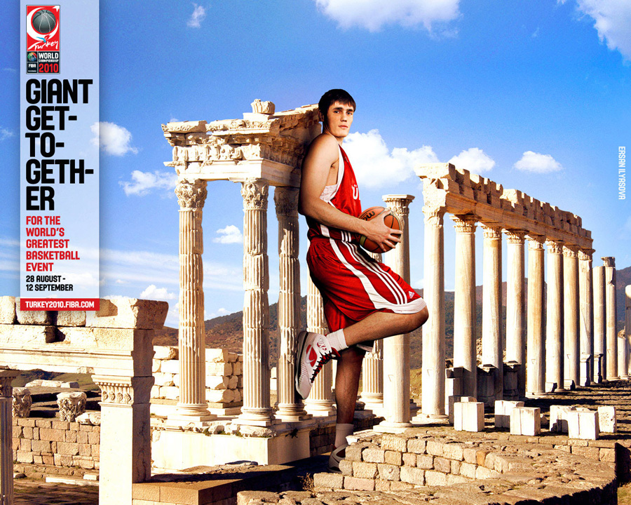 Ersan Ilyasova FIBA World Championship 2010 Wallpaper