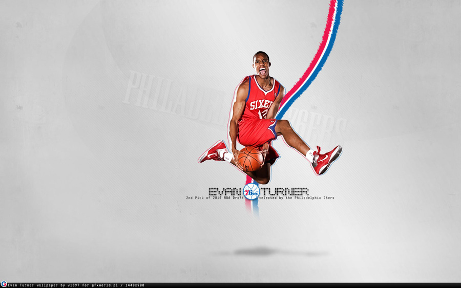 Evan Turner 76ers Widescreen Wallpaper