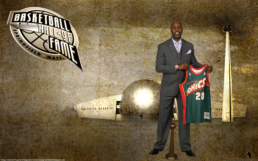 Gary Payton 2013 Hall of Fame 1920x1200 Wallpaper