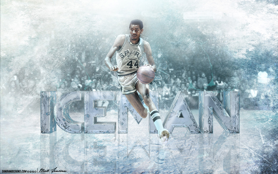 George Gervin Spurs 2880x1800 Wallpaper